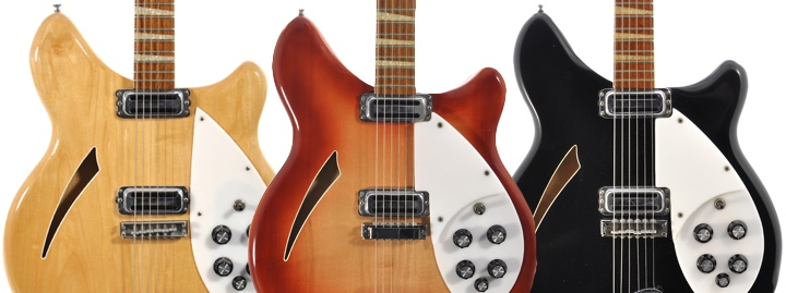 classic Rickenbacker finishes
